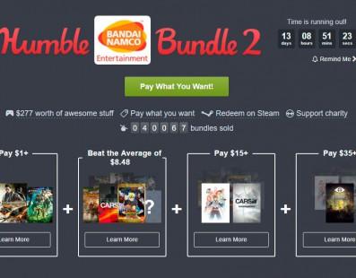 Nuevo Humble Bundle de Bandai Namco disponible