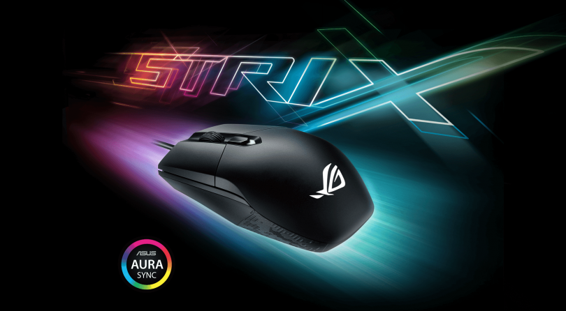 Asus anuncia el nuevo ratón Strix Impact pensado para MOBA