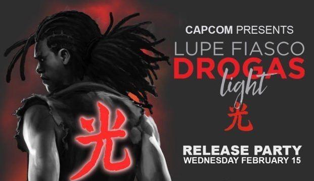 Street Fighter V revela su nuevo luchador descargable en la presentación del nuevo disco de Lupe Fiasco