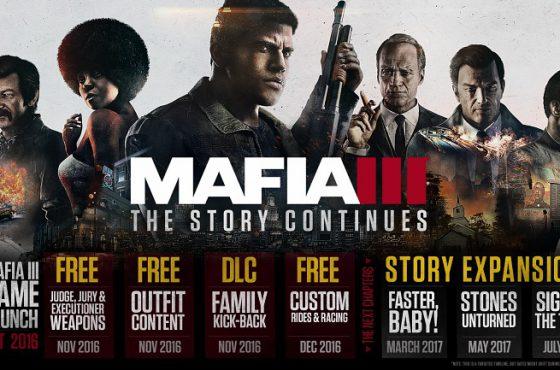 La primera gran expansión de Mafia III, «¡Más Rápido!» estará disponible en marzo