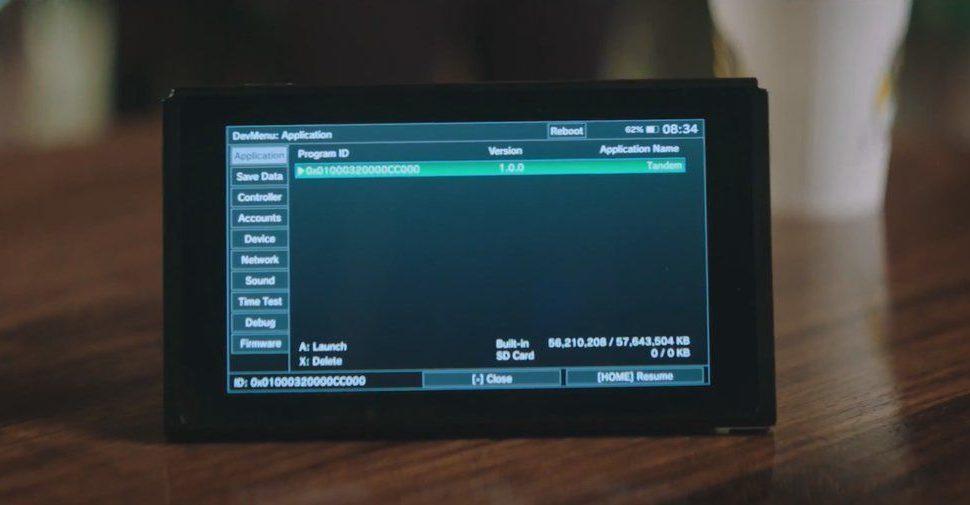El menú para desarrolladores de Switch sale a la luz por un vídeo promocional