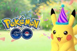 Pokémon GO celebra el vigésimo primer aniversario de la saga con un Pikachu especial