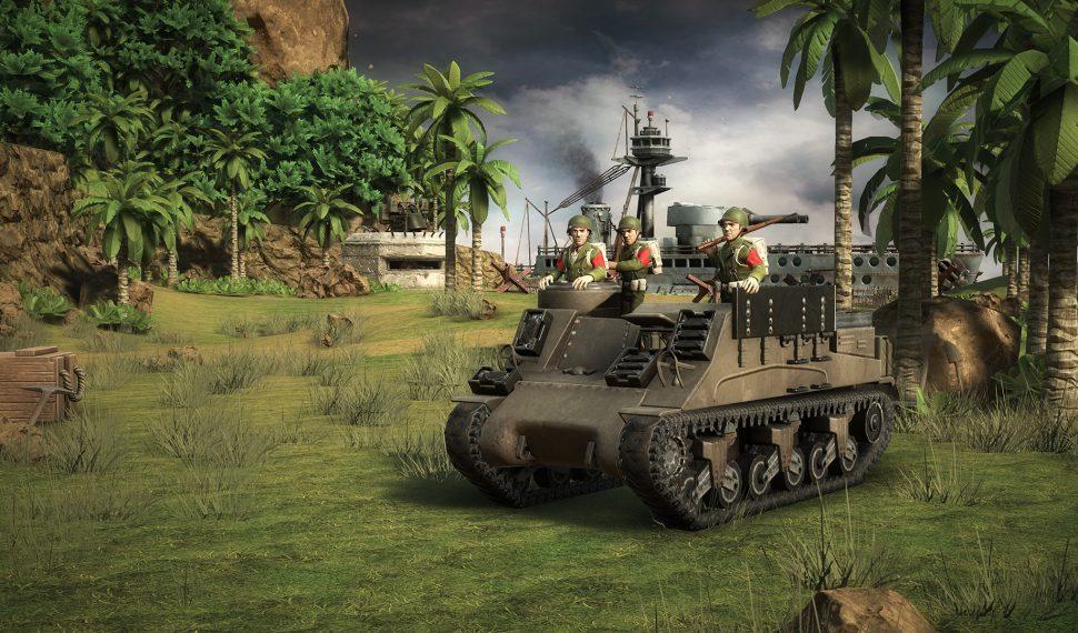 Viaja a la Segunda Guerra Mundial con Battle Islands Comanders