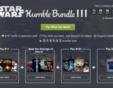 Nuevo Humble Bundle Star Wars ya disponible y es… ¡irresistible!