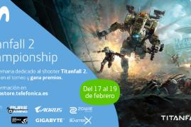 Evento TITANFALL 2 del 17 al 19 de Febrero en Telefónica Flagship Store de Gran Vía (Madrid)