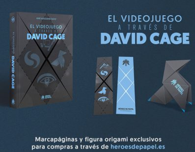 'El videojuego a través de David Cage': Libro ya disponible para su reserva