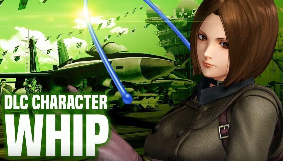 El primer DLC de KOF XIV nos muestra su nueva luchadora, Whip