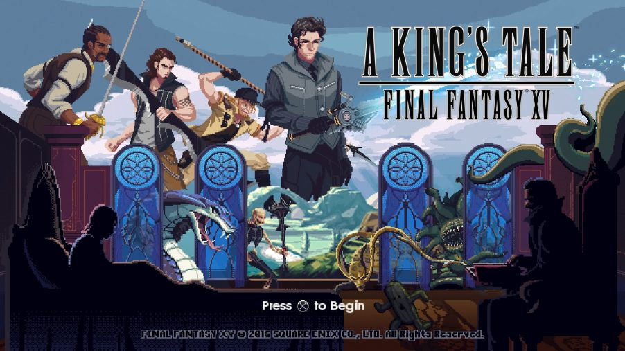 A King's Tale Final Fantasy XV ya se puede descargar de forma gratuita