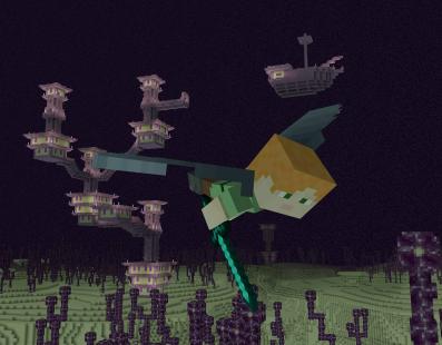 Mañana ya podrás volar en Minecraft gracias a su minijuego