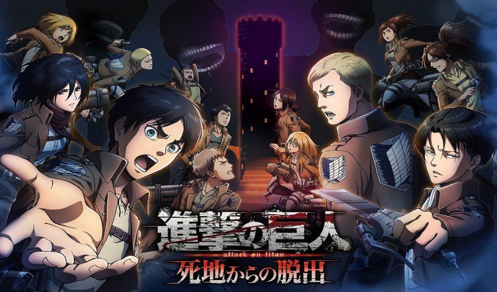 Attack on Titan: Escape from Certain Death es retrasado a el 11 de mayo en Japón