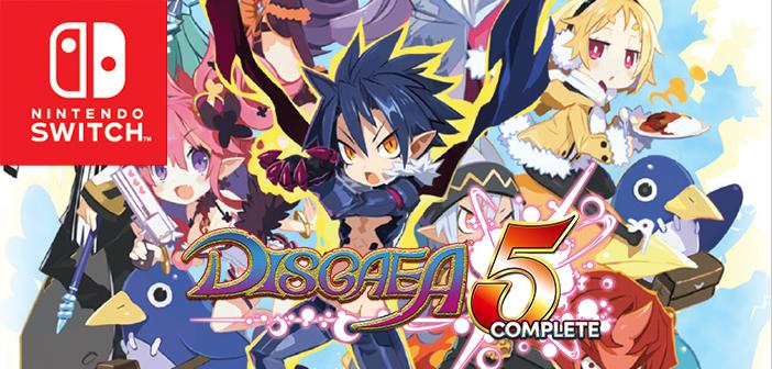 Resultado de imagen de disgaea 5 complete switch