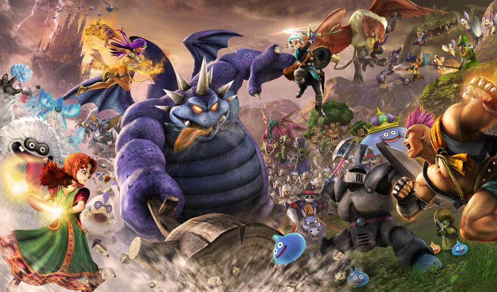 Comparan el rendimiento de Dragon Quest Heroes II en Switch y PS4
