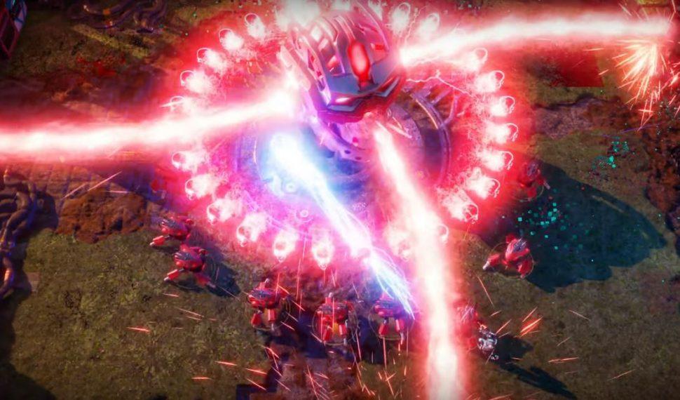 El videojuego Nex Machina va a llegar a PC en 2017