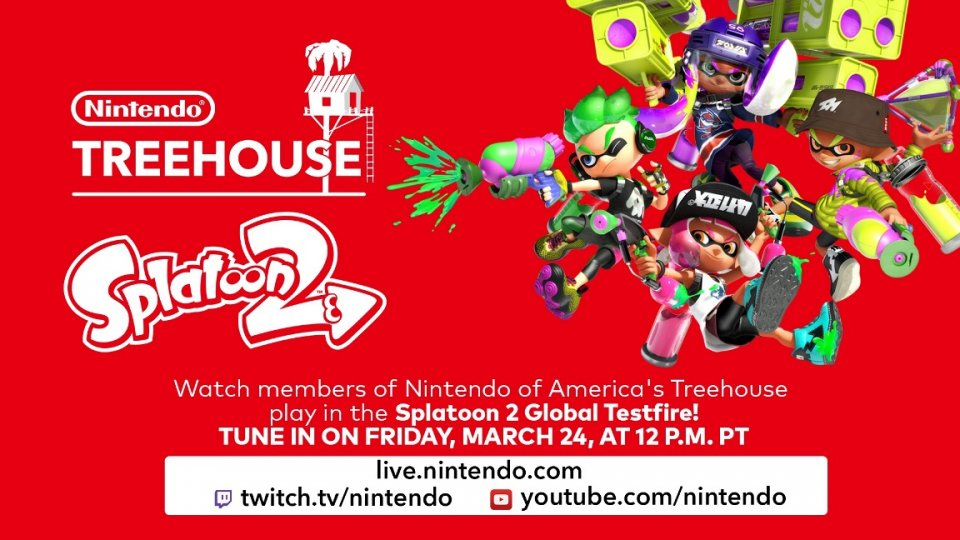 Splatoon 2 Global Testfire llega este fin de semana a Nintendo Switch