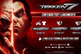 Ya sabemos el contenido adicional que estará disponible en TEKKEN 7