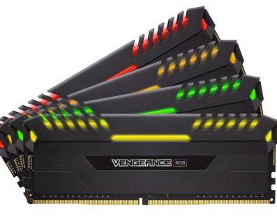 CORSAIR lanza la memoria DDR4 VENGEANCE RGB