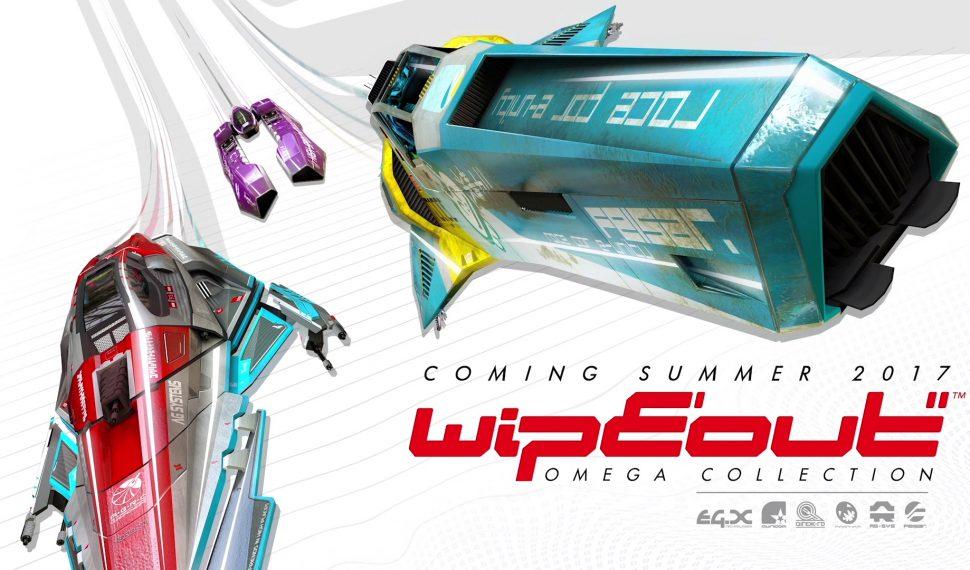 Wipeout Omega Collection llegará a PlayStation 4 en junio