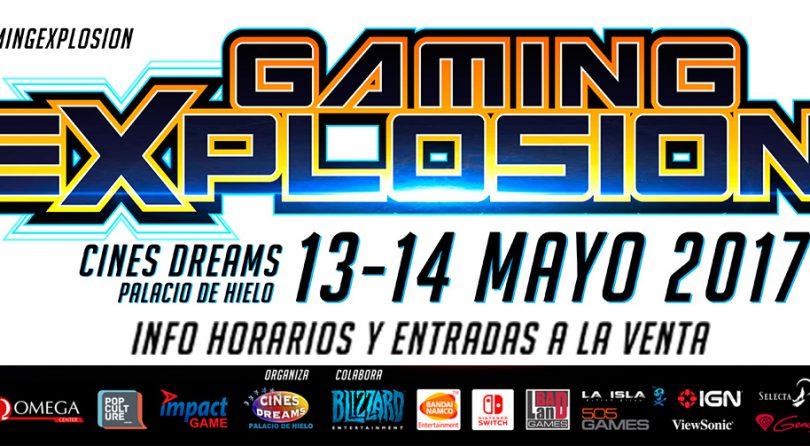 Llega a Madrid la I edición de Gaming Explosion. ¡No te la pierdas!