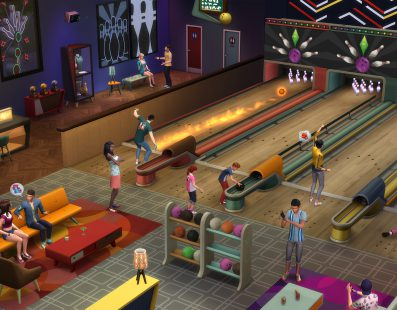 Los Sims 4: Noche de Bolos, disponible el próximo 29 de marzo
