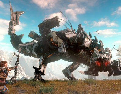Horizon Zero Dawn preside el podio del Top Ventas de la pasada semana en UK