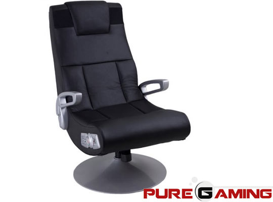 silla gaming con base pedestal