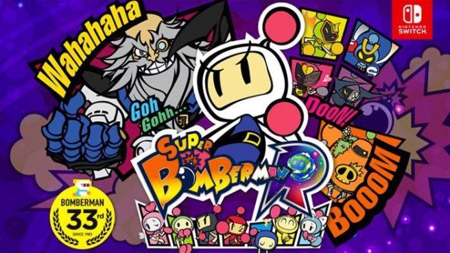 Super Bomberman R de Nintendo Switch ya tiene su actualización a la versión 1.2