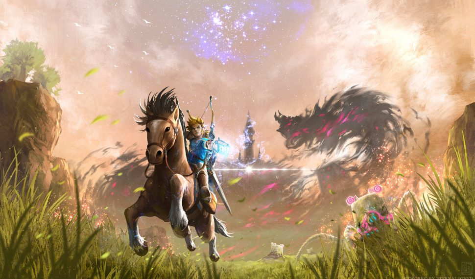Comparativa en vídeo de Zelda: Breath of the Wild en Wii U y Switch