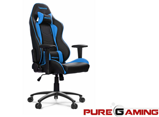 silla gaming con base de ruedas