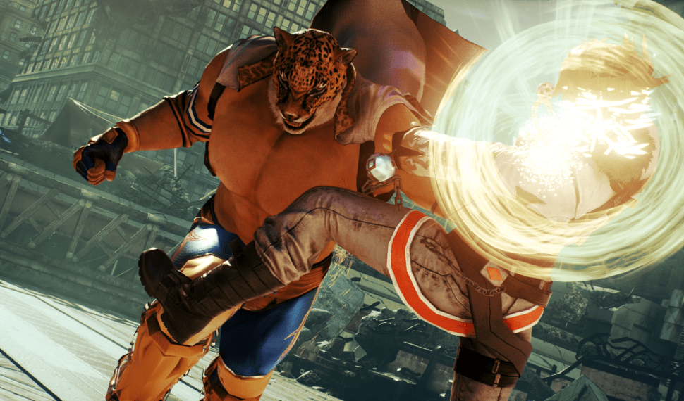 King y Heihachi en el nuevo gameplay de Tekken 7