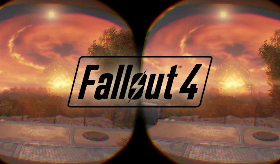 Fallout 4 VR se convertirá en el Mario o Sonic de la realidad virtual