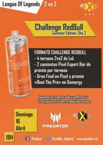 torneo lol madrid challenge redbull