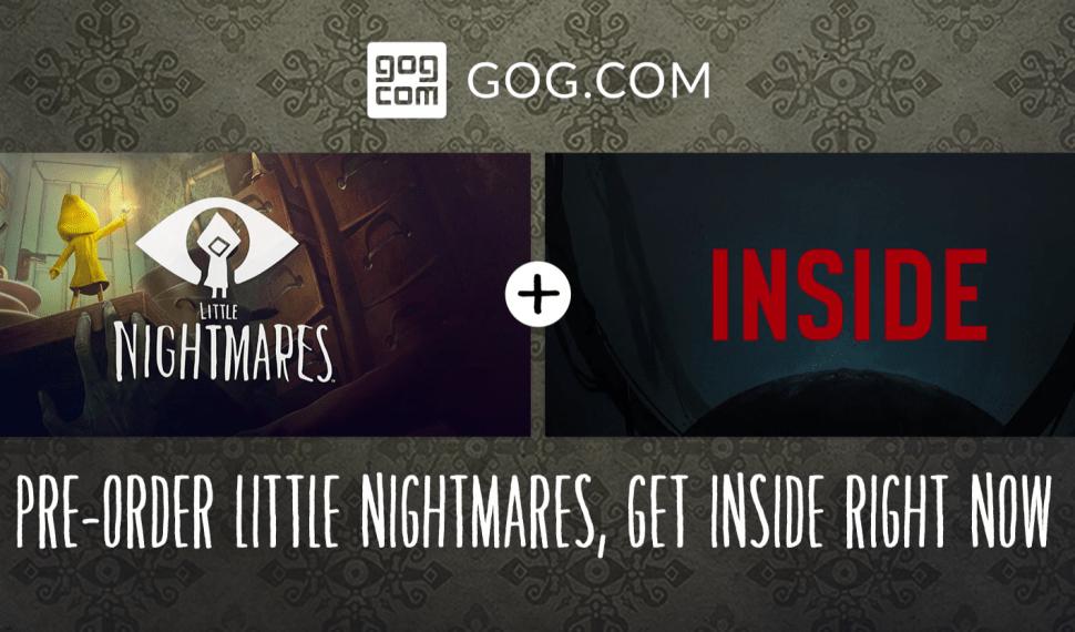 GOG regala Inside a quienes compren Little Nightmares