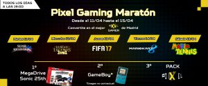 pixel gaming maraton
