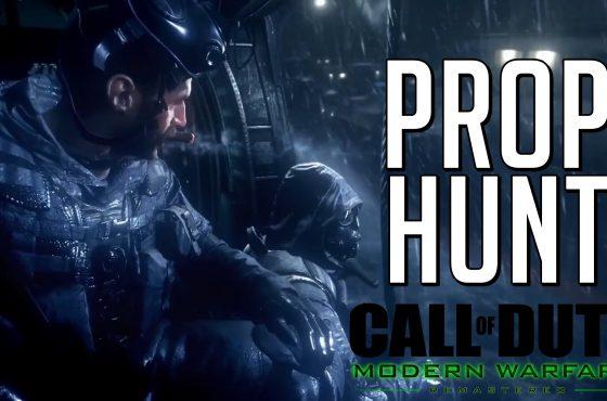 Piden que Call of Duty Modern Warfare Remastered mantenga su modo Prop Hunt