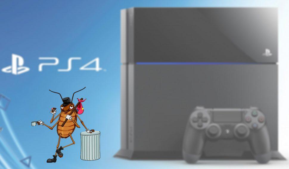 ¿Estará tu PS4 llena de cucarachas?