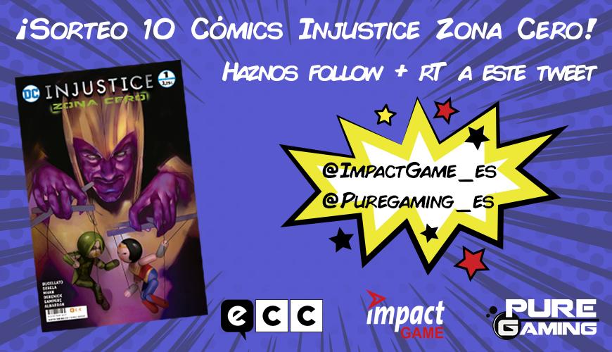 [FINALIZADO] Injustice: Zona Cero 1 presenta su portada exclusiva para Impact Game + SORTEO