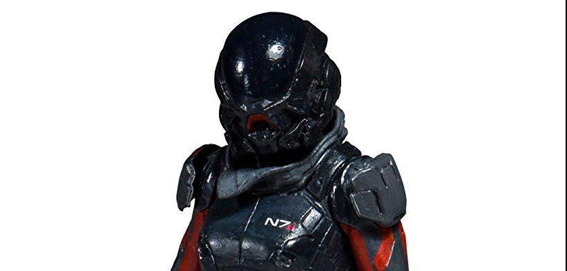 Se presenta la figura de Sara Ryder de Mass Effect Andromeda