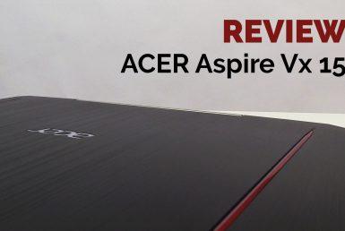 REVIEW ACER Aspire VX 15 – Un portátil gaming para todos los bolsillos