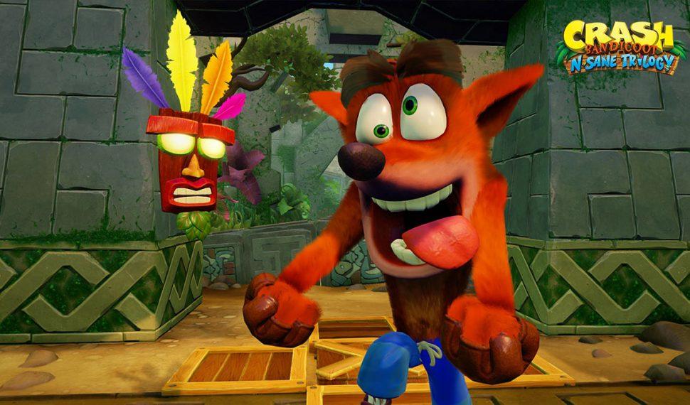 Crash Bandicoot N. Sane Trilogy muestra su jugabilidad en un nuevo gameplay
