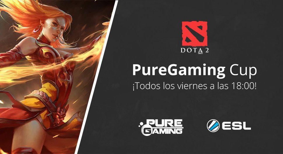 PureGaming y ESL presentan el torneo de DOTA 2 PureGaming Cup