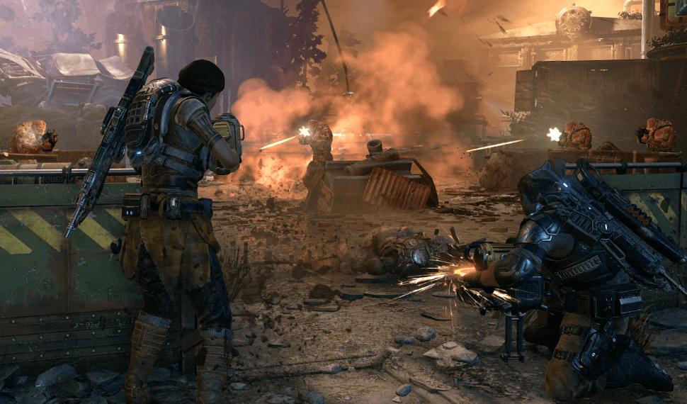 Microsoft anuncia mapas y modos para la actualización de abril de Gears of War 4 entre otras novedades