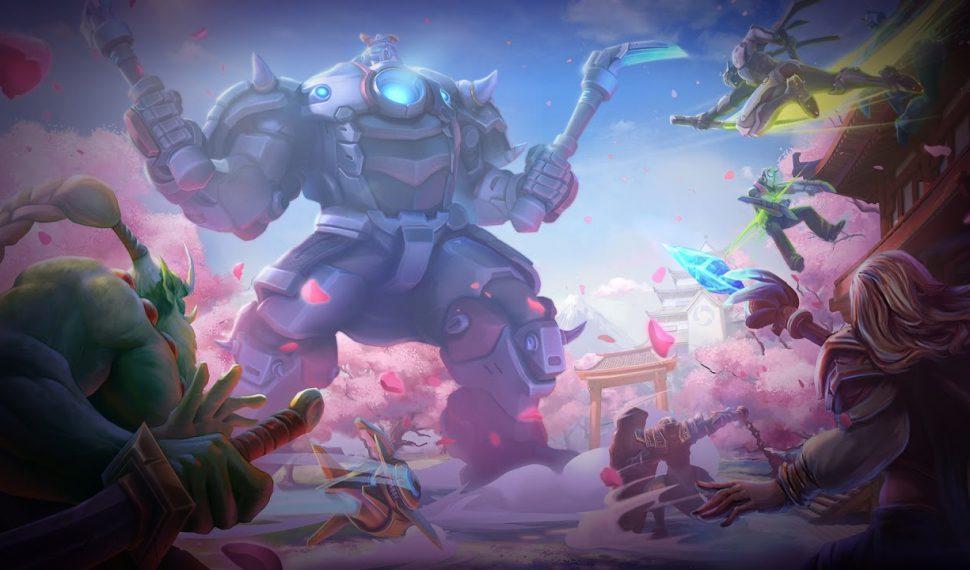 Genji y Dva, los nuevos personajes de Heroes of the Storm
