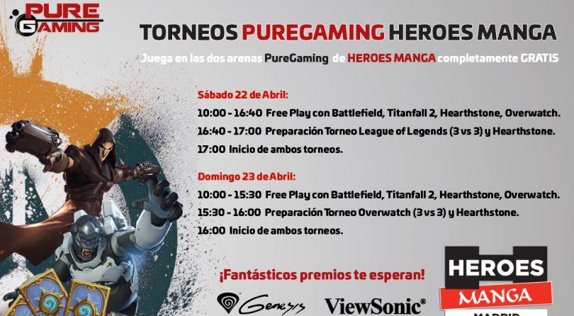 Actividades Heroes Manga Madrid 2017