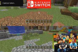 No te pierdas cómo es Minecraft en Nintendo Switch
