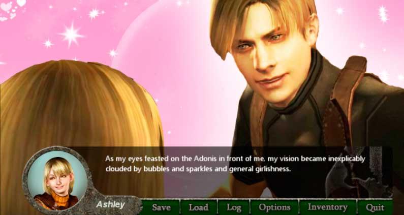 Resident Evil 4: Ahora en forma de novela romántica