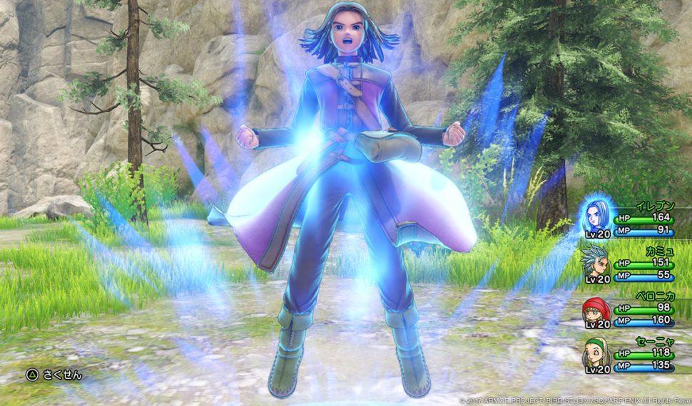 Llegan nuevas imagenes de los sistemas Zone y Link de Dragon Quest XI