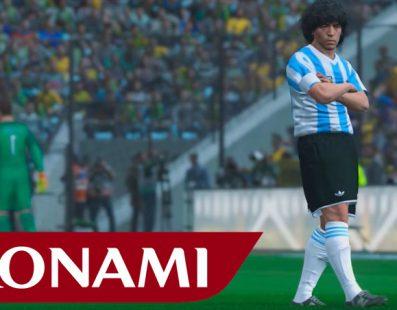 Konami pagará 1 millón de dolares a Maradona por PES