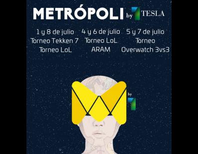Torneos Metrópoli 2017 por PureGaming