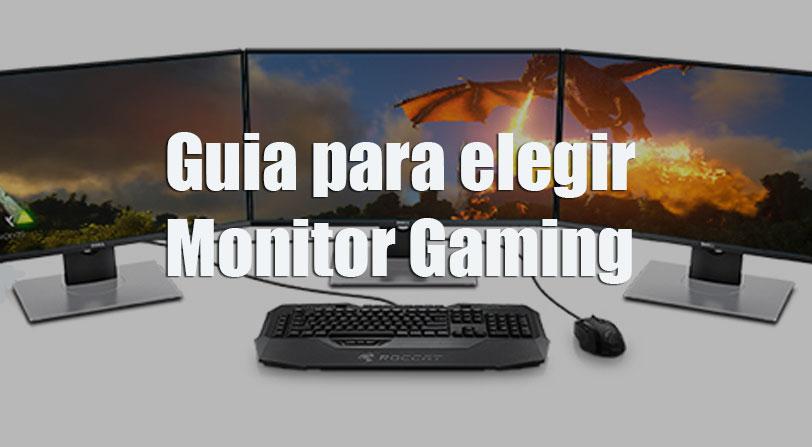guia monitores gaming 4k