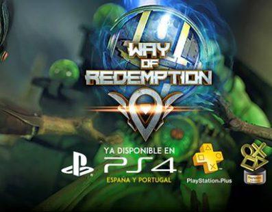¡Ya está disponible Way of Redemption! Ganador de los II Premios PS Talents